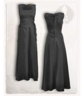 Uma dress canvas - Black
