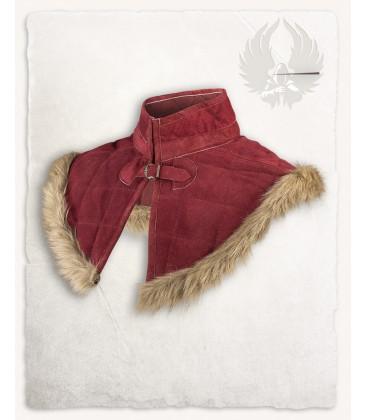 Gorjal Nimue forrado de lana Gris