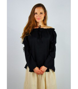 Blouse with strings Sofía