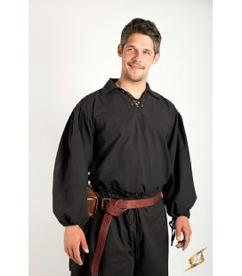 Camisa de Espadachín Epic Black - Tallas grandes descatalogadas