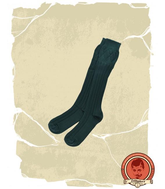 Calcetines para Kilt, Verde oscuro