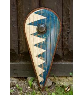 Norman Shield - Blue/White