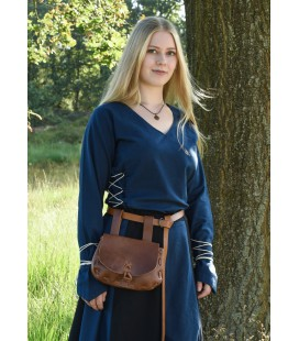 Medieval Blouse Aila with Cording