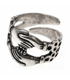 Betrothal Anillo Medieval