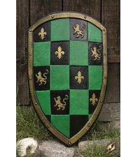 Escudo Ajedrezado Verde