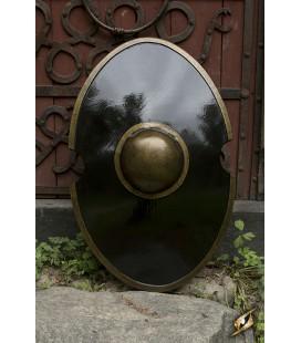 Escudo Elíptico Negro