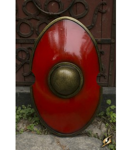 Escudo Elíptico Rojo