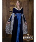 Aura vestido señorial - Azul