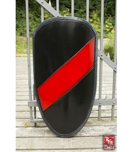 Escudo Grande RFB Rojo y Negro