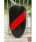 RFB Large Shield Black - Red