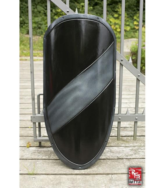 RFB Large Shield Black - Silver