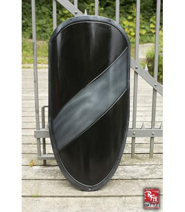 Escudo Grande RFB Plata y Negro
