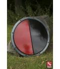 RFB Escudo Redondo Negro y Rojo
