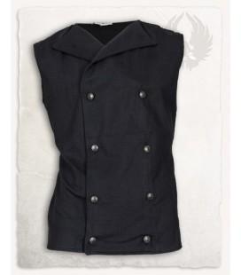 Chaleco Hamish de algodón - Negro