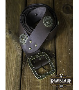 Noble Belt With Ornaments - Black