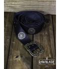 Cinturón de Noble con Ornamentos - Negro