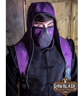 Akku splitleather hood, Black