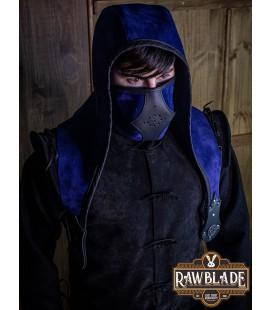 Akku splitleather hood, Brown