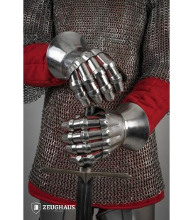 Steel Gloves 14th Century