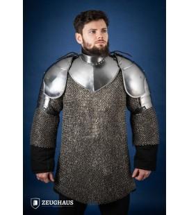 "Pauldrons ""Knight"", polished"
