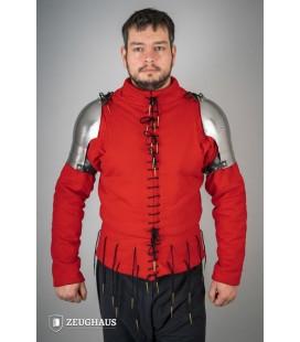 Hombreras estilo Siglo XIV - Acero Pulido