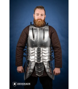 Cuirass with back Avenger, polished