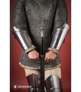 """Bracers """"Warrior"""", polished"""