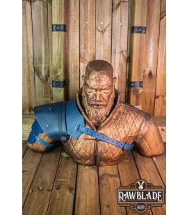 Warrior shoulder - Blue