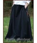Daisy falda medieval - Negro