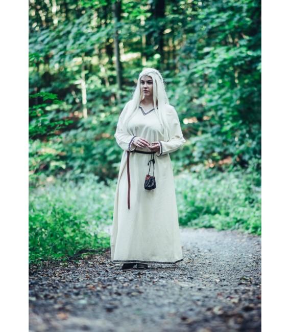 Brigida Vestido vikingo - Beige