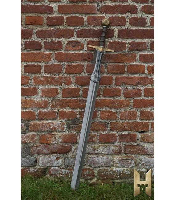 Espada Caballeresca - Dorado - 105 cm