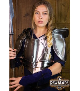 Protector Woman Plate Armor with shoulders