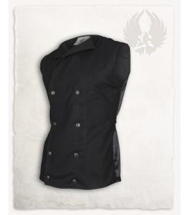 Hamish chaleco de lana - Negro