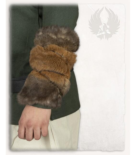 Brazales de piel de conejo Thueringer