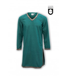 Tunic with braid - Green
