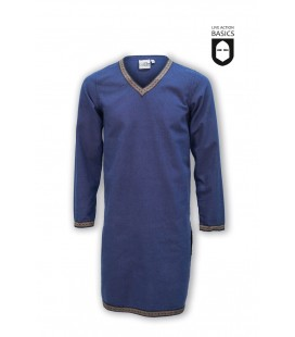 Tunic with braid - Blue