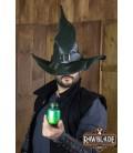 Wikka Sombrero de bruja - Verde