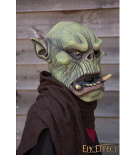 Máscara de Orco con Colmillos - Verde - 52 - 54 cm
