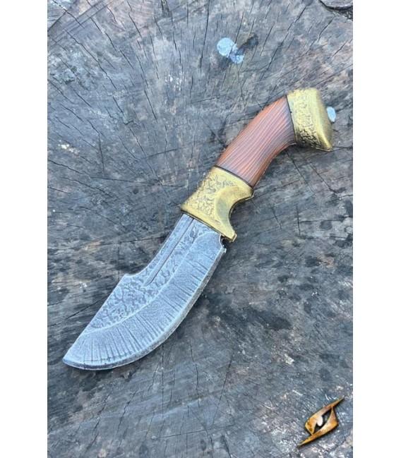 Cuchillo de Cazador - Dorado - 21cm