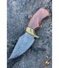 Cuchillo Ancho - Dorado - 19cm