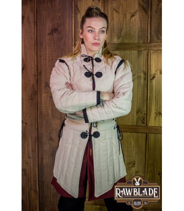 Morgause Gambeson Complete - Natural