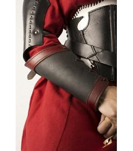Brazaletes de Matón Rojo y Negro (Pareja)