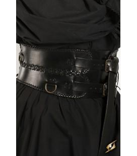 Cinturón Ancho en Negro