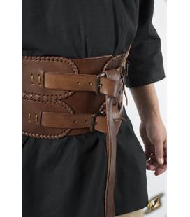 Cinturón Ancho en Marrón