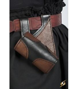 Porta Armas Real en Negro y Marrón