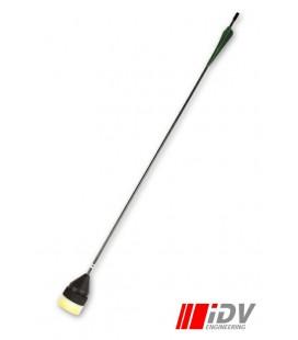 Flecha Cabeza Plana Verde / Negro