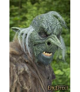 Máscara de Caudillo Goblin - Gris con Pelo