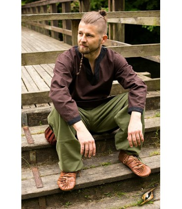 Pantalones Básicos Verde