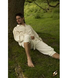 Pantalones Cortos Blanco Roto