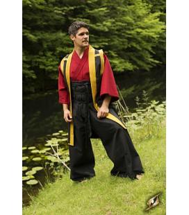 Pantalones Samurai Gris y Negro